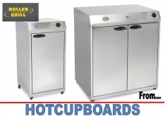 HOTCUPBOARDS by ROLLER GRILL HVC60GN - K.F.Bartlett LtdCatering equipment, refrigeration & air-conditioning